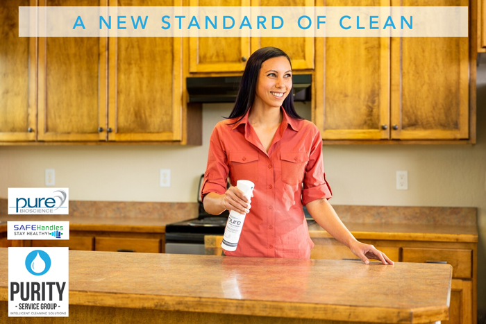 A new standard of clean with Safe Handles